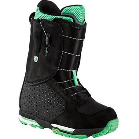 Купить Ботинки для сноуборда BURTON 2013-14 SLX BLACK/GREEN 912546