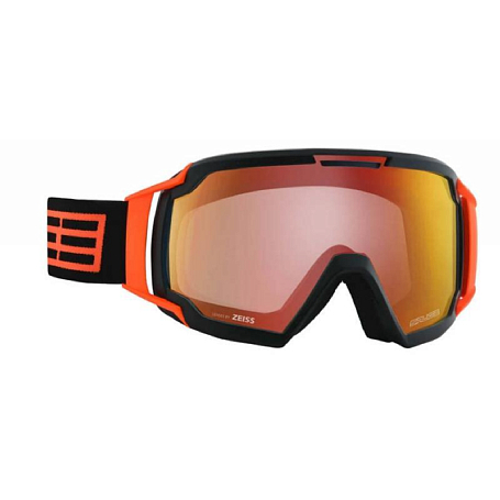 Очки горнолыжные Salice 618DARWF BLACK-ORANGE/RW CLEAR
