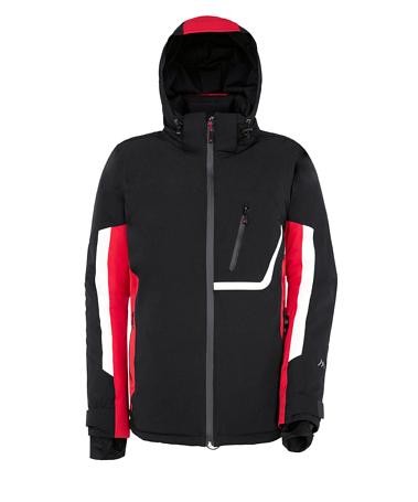 Купить Куртка горнолыжная MAIER 2014-15 MS Dynamic Amden black/fire (чёрный/красный) Одежда 1092346