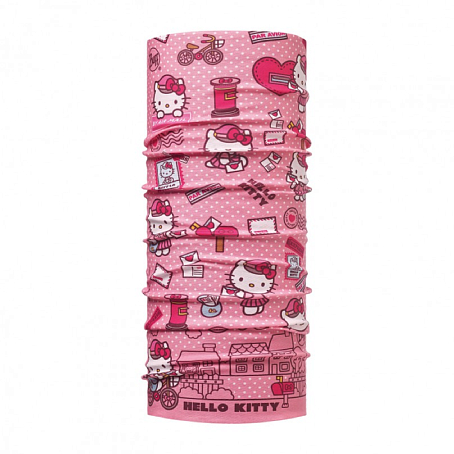 Купить Бандана BUFF Licenses HELLO KITTY JR ORIGINAL MAILING ROSE/OD, Банданы и шарфы Buff ®, 1343519
