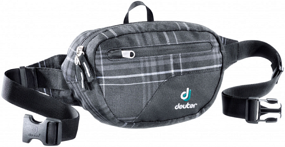 Сумка поясная Deuter Organizer Belt black check