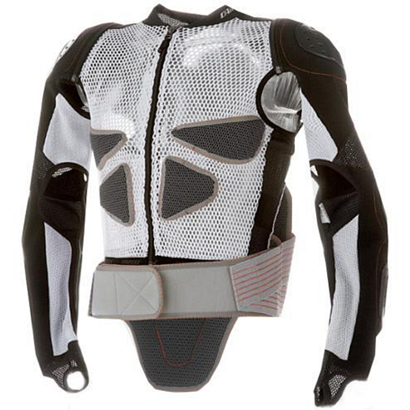 Защитная куртка Dainese 2011-12 ACTION PROTECTION W2 white-black
