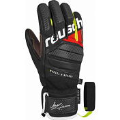 Перчатки горные REUSCH 2018-19 Marcel Hirscher black/fire red