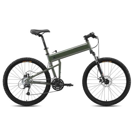 Купить Велосипед MONTAGUE Paratrooper 2015 зеленый Складные велосипеды 1185357