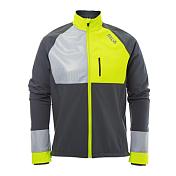 Куртка беговаяОдежда для бега и фитнеса<br>Ветрозащитная и водостойкая куртка Silva Devotion идеально подойдет для зимних тренировок. Куртка садится по фигуре и обеспечивает полную свободу движения. Светоотражающие элементы на молнии, рукавах и спине позволят вам быть более заметными в темное время суток. Дышащий материал и вентиляционные отверстия обеспечивают максимальный комфорт во время интенсивных тренировок. Карманы на молнии позволяют взять с собой мобильный телефон, ключи, кредитную карту и т.д.&amp;nbsp;&amp;nbsp;