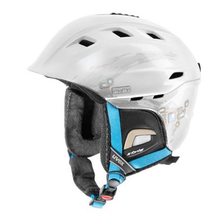 Купить Зимний Шлем UVEX Comanche 2 White/Blue, Шлемы для горных лыж/сноубордов, 847589