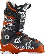 Горнолыжные ботинкиГорнoлыжные ботинки<br>Ботинок, в котором технология Twinframe адаптирована для достижения максимально плотной посадки и комфорта на протяжении всего дня, а революционный дизайн 3D внутреннего ботинка X-Pro устраняет точки дискомфорта и обеспечивает надежную посадку, которая необходима лыжникам экспертам. Жесткость ботинка: 130 Ширина колодки (мм): 100-106 Технология Twinframe, оболочка из двух видов пластика 360. CUSTOM SHELL, шарнир Oversized pivot, голенище CUSTOM SHELL, Articulated sensifit, Flex adjuster, ремень 45 мм, клипсы алюминиевые, внутренний ботинок My CustomFit 3D Race.<br><br>Пол: Унисекс<br>Возраст: Взрослый
