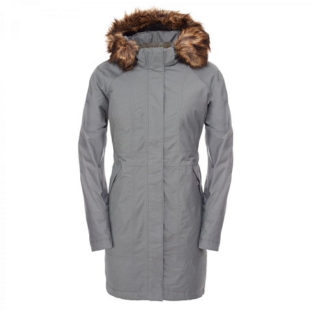 Куртка туристическая THE NORTH FACE 2015-16 W ARCTIC PARKA  SEDONA SAGE GRE SAGE/GRE / серый