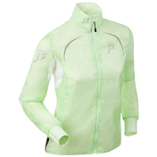Жакет беговой Bjorn Daehlie Jacket VENT Women Patina Green/Bright White (Св.зеленый/Белый)