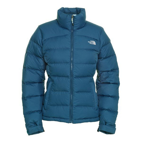 Куртка туристическая THE NORTH FACE 2012-13 Outerwear W NUPTSE 2 JACKET (KODIAK BLUE) синий