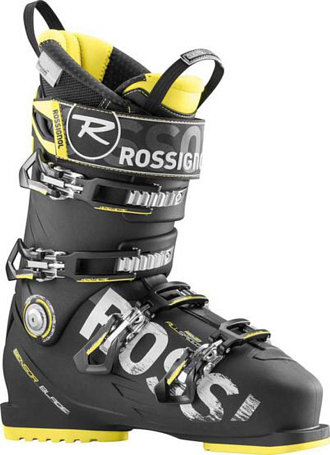 Купить Горнолыжные ботинки ROSSIGNOL 2015-16 ALLSPEED PRO 110 BLACK, Ботинки горнoлыжные, 1220255