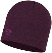 Шапка Buff Heavyweight Merino Wool Hat Purplish Multi Stripes