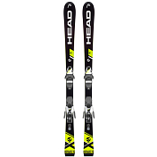 Горные лыжи с креплениями HEAD 2018-19 WC iRace Team  SLR 2+SLR 7.5 AC BRAKE 78 [H] black/neon yellow