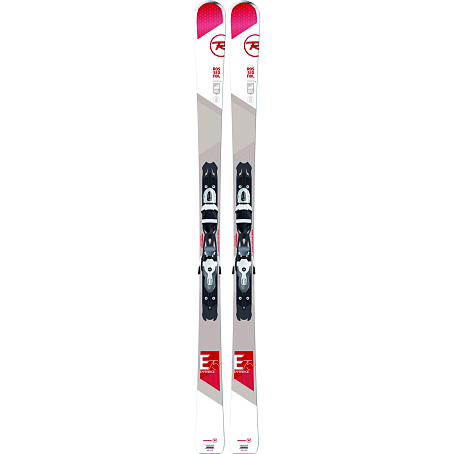 Горные лыжи с креплениями ROSSIGNOL 2014-15 ALL MOUNTAIN EXPERIENCE 75 XELIUM+XELIUM 100 B83 BLACK WHITE