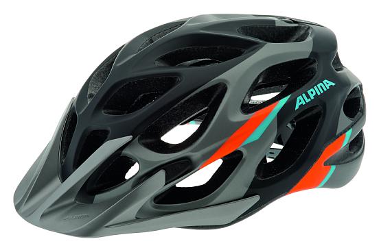 Купить Летний шлем Alpina MTB Mythos 2.0 LE darksilver-blue-orange, Шлемы велосипедные, 1179919