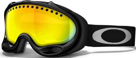 Купить Очки горнолыжные Oakley A-Frame jet black/fire 705298