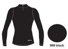 Футболка с Длинным Рукавом Accapi Polar Bear Heavy Weight Long Sleeve Shirt - Men's Black (Черный)