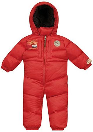 Купить Комбинезон горнолыжный Salewa Kid KULUNDA DWN KID OVERALL red uni (красный) Детская одежда 602664