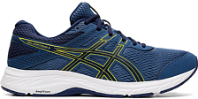 Беговые кроссовки элит Asics Gel-contend 6 Grand shark/vibrant yellow