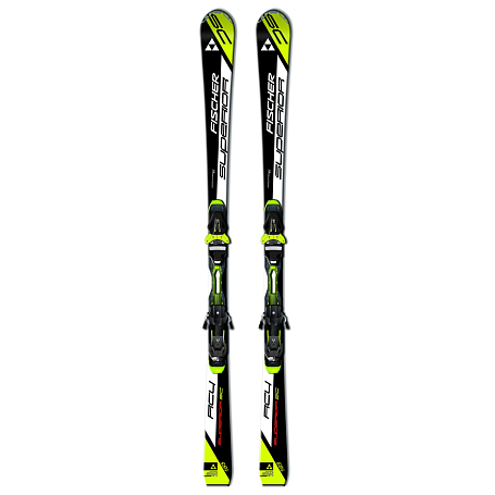 Купить Горные лыжи с креплениями FISCHER 2014-15 RC4 Superior SC Powerrail+RC4 Z12 Powerrail черн./желт. 1143982