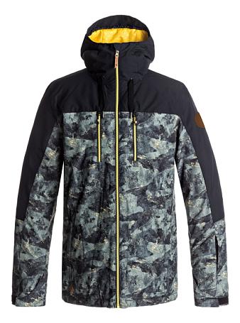 Купить Куртка сноубордическая Quiksilver 2017-18 MISSION BLOC JK M SNJT CRE6 ANICAMO Одежда 1354497