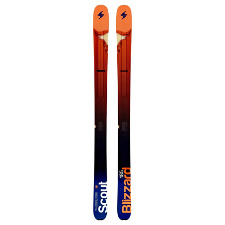 Горные лыжи Blizzard 2014-15 Free Ride SCOUT(FLAT) ORANGE-BLU-WHITE