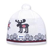 ШапкаГоловные уборы<br>Теплая шапка с маленьким помпоном. Для лучшего сохранения тепла с внутренней стороны повязка, выполненная из нитей Thermolite. Состав: 50% мериносовая шерсть, 50% акрил <br><br>Пол: Унисекс<br>Возраст: Взрослый<br>Вид: шапка