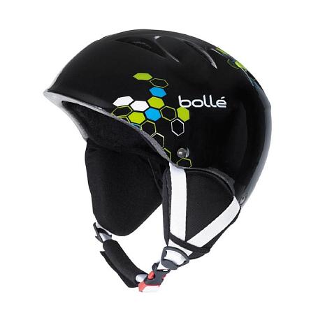 Купить Зимний Шлем Bolle 2015-16 B-KID SHINY BLACK GEO Шлемы для горных лыж/сноубордов 1240475