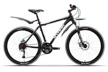 ВелосипедКолеса 26 (стандарт)<br>Горный начальный велосипед Stark Tactic Disc 2015. Модель оснащена алюминиевой рамой. Установлены пружинно-эластомерная вилка SR XCT 80mm, дисковые механические тормоза, а также начальное оборудование. Stark Tactic Disc 2015 прекрасно подойдёт для катания как в городе, так и по пересечённой местности.<br><br>Рама и амортизаторы<br><br>Рама: AL 6061<br>Вилка: SR XCT 80mm<br><br>Цепная передача<br><br>Манетки: SHIMANO ST-EF51<br>Передний переключатель: SUNTOUR<br>Задний переключатель: SHIMANO ALIVIO<br>Шатуны: Suntour 42/32/22<br><br>Колеса<br><br>Обода: WEINMANN XTB26<br>Bтулка: Joytech alloy DISC<br>Покрышка: WTB 26*1,95<br><br>Компоненты<br><br>Передний тормоз: Promax DISC 160/160mm механика<br>Задний тормоз: Promax DISC 160/160mm механика<br>Производство: Разработка: Россия. Производство: КНР &amp;#40;Тайвань&amp;#41;.<br><br>Пол: Мужской<br>Возраст: Взрослый
