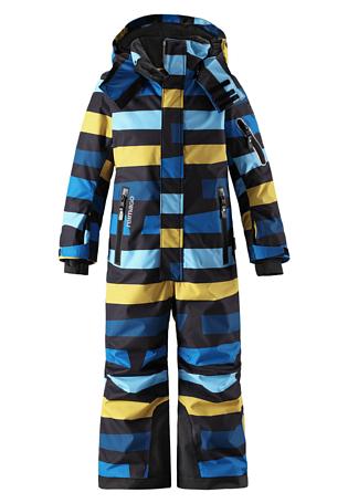 Купить Комбинезон горнолыжный Reima 2017-18 Reach Blue Детская одежда 1358791
