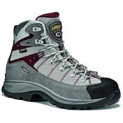 Ботинки для треккинга (высокие)Треккинговая обувь<br>Верх - водонепроницаемая замша толщиной 1,6 - 1,8 мм + высокопрочный полиэстер. Подкладка - Gore-Tex  Extended.  Усиленный низ ботинка - система Asoflex 00 SR. Анатомичная стелька Lite 2.Назначение: ХайкингПодошва:  Asolo/ Vibram  Radiant      ( резина - eva). Защита от влаги: Gore-Tex ExtendedВес: 590 г (один ботинок размера 8 UK)<br><br>Пол: Женский<br>Возраст: Взрослый