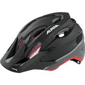 Летний Шлем Alpina 2017 Carapax Jr. Flash Black-red-darksilver