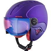 Зимний Шлем Alpina 2020-21 Carat Le Visor HM Royal/Purple Matt