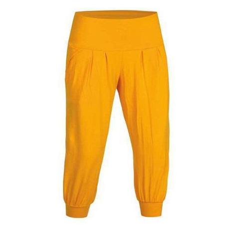 Купить Брюки для активного отдыха Salewa Climbing ROUND TURN CO W 3/4 PNT marigold Одежда туристическая 889438