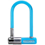 Замок велосипедный Kryptonite U-locks Kryptolok  Mini-7  w/ FlexFrame-U bracket (COLOR-LT.BLUE)