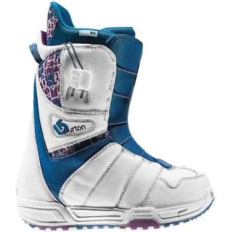 Купить Ботинки для сноуборда BURTON 2009-10 MINT WHT/PUR/BLU 618298