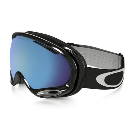 Купить Очки горнолыжные Oakley 2016-17 A-Frame 2.0 JET BLACK/PRIZM SAPPHIRE IRIDIUM 1293280