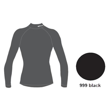 Купить Футболка с дл. рукавом ACCAPI TECHOSOFT PLUS EVO LONG SL.LUPETTO MAN black Термобелье 1114806