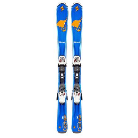 Купить Горные лыжи с креплениями Blizzard 2015-16 Junior COCHISE IQ JR+IQ-7(130-150) BLA-GRE-WHI 1119701