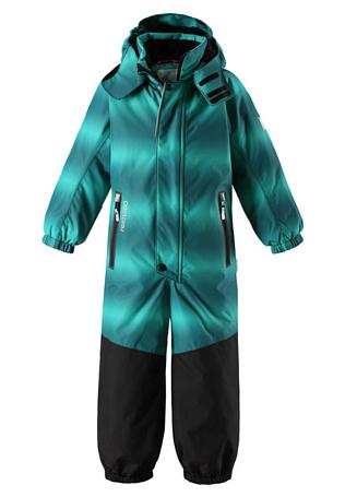 Купить Комбинезон горнолыжный Reima 2017-18 Tornio Green Детская одежда 1351648