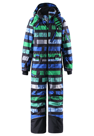 Купить Комбинезон горнолыжный Reima 2015-16 Snowfall black Детская одежда 1197408