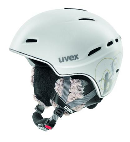 Купить Зимний Шлем UVEX Hypersonic Pro White/Silver/Gold Mat, Шлемы для горных лыж/сноубордов, 847802