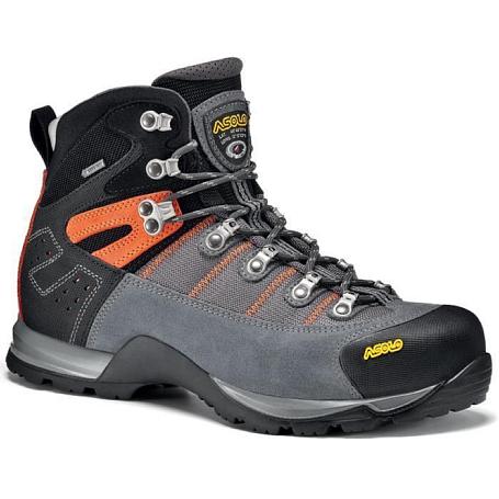 Купить Ботинки для треккинга (высокие) Asolo Energy Fugitive GTX MM Grey-Black-Mandarin Треккинговая обувь 1015693