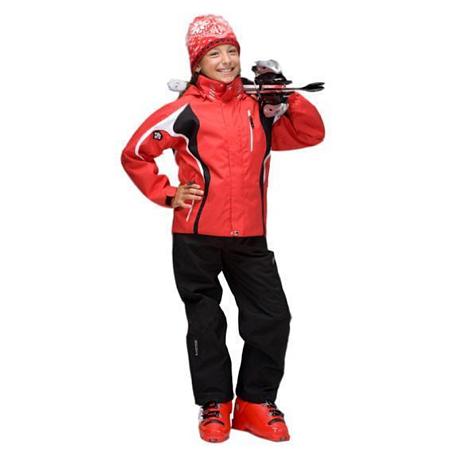 Купить Брюки горнолыжные DESCENTE 2011-12 CARVE JR. BLACK Одежда горнолыжная 744753