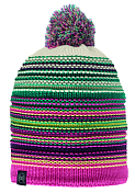 ШапкаАксессуары Buff ®<br>Вязаная шапка с интересным дизайном. Стильный комфорт для осени/зимы.