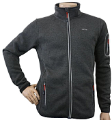 Флис для активного отдыха GTS 2018-19 HERREN Knitted Fleece Jkt M carbon