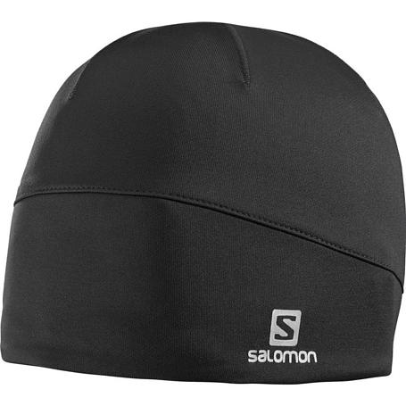 Купить Шапка SALOMON 2017-18 ACTIVE BEANIE BLACK, Головные уборы, шарфы, 1350973