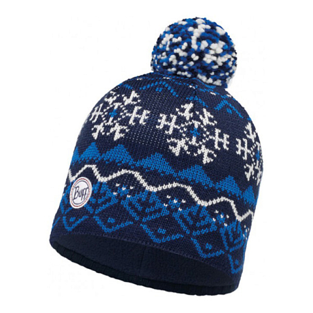 Купить Шапка BUFF KNITTED & POLAR HAT VAILDARK NAVY-DARK NAVY-Standard, Банданы и шарфы Buff ®, 1227769