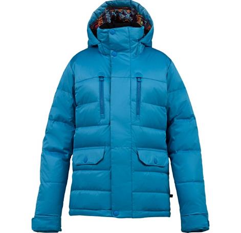 Купить Куртка сноубордическая BURTON 2013-14 WB DANDRIDGE DWN JK BLUE-RAY Одежда 1021921