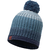 Шапка Buff KNITTED & POLAR HAT BORAE MAZARINE BLUE